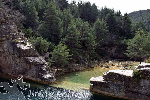 Vista del Pozo de Pigalo.